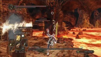 Dark Souls 2: Как се убива Iron King в ко-оп парти най-лесно