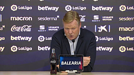 Spain: Barcelona's Koeman says 'no explanation' for Levante draw as future with team in doubt