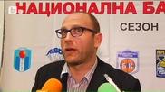 Тити Папазов откача пред журналисти