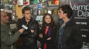 The Vampire Diaries Hot Topic interview