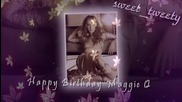 Happy Birthday Maggie Q [full collab]