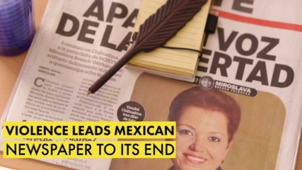 Violence leads Mexican newspaper to its end
