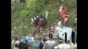 Тежка автобусна катастрофа в Индия