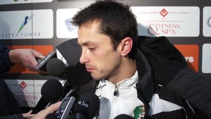 Христо Янев: Загубихме, защото не си вкарахме положенията