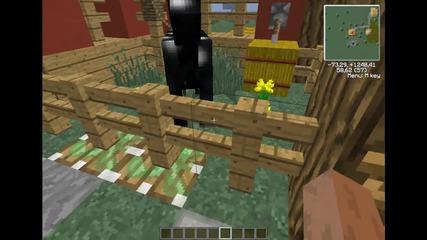 Конюшнята ми във Minecraft