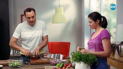 Салата от краставици с орехи и копър - Бон Апети (16.05.2018)