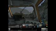 Railworks 3 пристигане на гара Almsfeld с локомотив V 200 033