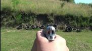 Стрелба по различни предмети с Cz 75b 9x19mm