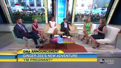 'Good Morning America's' Ginger Zee is Pregnant with Her First Child
