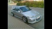 Honda crx tuning