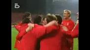 Финал на Шампионска Лига 25.05.2005 Милан Ливърпул Награждаване