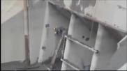 Ужасен инцидент на строеж