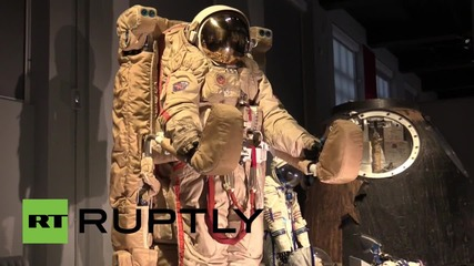UK: First woman in space Valentina Tereshkova launches LSM space expo