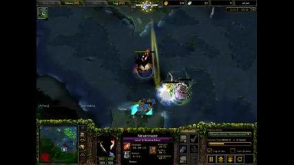 Shadow Fiend - Nevermore Gameplay