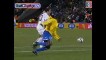 28.06.09 Сащ - Бразилия 2:0 гол на Донован
