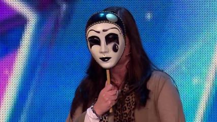 Най-бързото отрязване на участник - смях Britain's Got Talent 2015