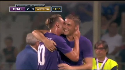 Фиорентина - Барселона 2:1