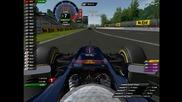Sebastian Vettel lap onboard Kers in Use