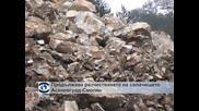 Продължава разчистването на свлачището Асеновград - Смолян