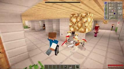 Minecraft - Gta 5- The Minecraft Heist! (grand Theft Auto V!) - Mods Showcase