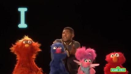 Sesame Street Ushers Abc Song