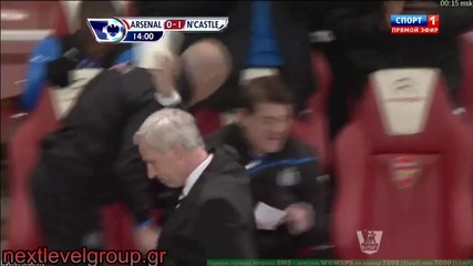 Ben Arfa vs Arsenal Brilliant goal 12.03.2012