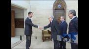 Лахдар Брахими разговаря с Башар Асад и изрази пожелание за постигане на споразумение