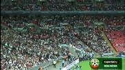 Българи юнаци!7000 българи пеят на стадион Уембли!