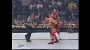Дебютният мач на Джон Сина.