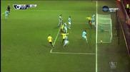 Александър Коларов с автогол в мача срещу Уотфорд