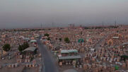 Iraq: Drone captures world's biggest cemetery in Najaf amid coronavirus surge