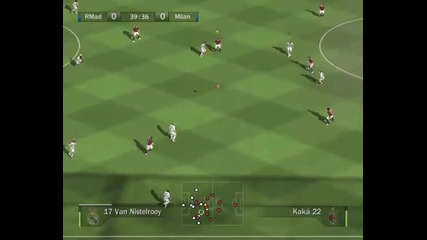 Real Madrid - Milan 1st half Fifa 08