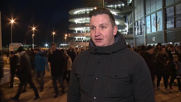 UK: Manchester City fans celebrate 6-0 thrashing of Chelsea