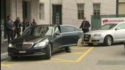 Switzerland: Syrian govt. delegation arrives for UN peace talks in Geneva