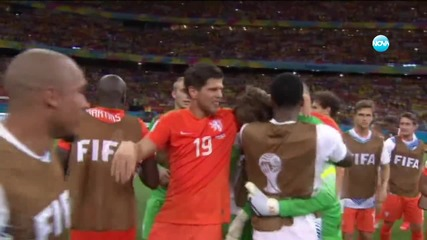 Холандия победи Коста Рика след изпълнение на дузпи
