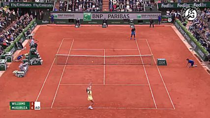 Williams vs Muguruza - 2016 Roland Garros Women' s Final