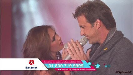 Anahi Y Carlos Ponce - Rendirme En Tu Amor [ En Teleton Mexico 2011 ]