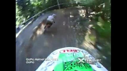 Gopro Helmet Hero Wide! Зарибяваща пътека