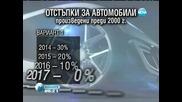 Депутати решават за скока в данъка на старите автомобили