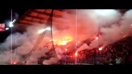 Огнен ад в Атина