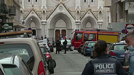 France: Nice church cordoned off following deadly knife attack