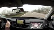 Кратък спринт по магистралата със Audi A6 3.0 Tdi quattro