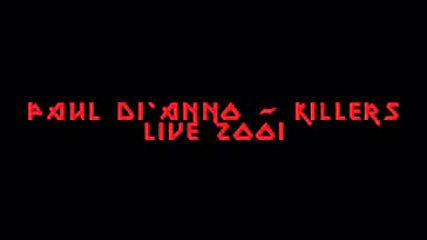 Paul Di`anno - Killers (live 2001)