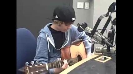 Justin Bieber - - One Time [acoustic version
