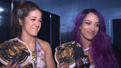Sasha Banks & Bayley vow their big win is only the beginning of what is to come: WWE.com Exclusive, Feb. 17, 2019