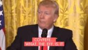 Covfefe… Did Trump have a stroke while tweeting?