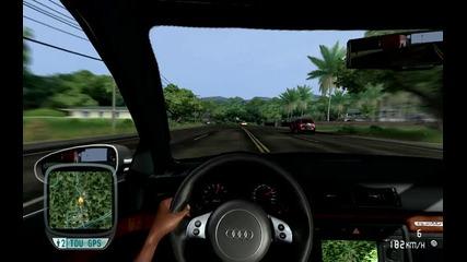 Audi Rs4 дивее из Маями Флорида