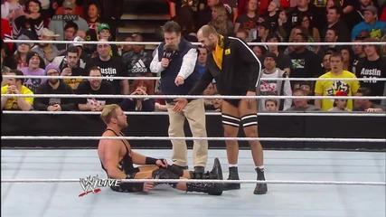 Big E vs. Jack Swagger Raw (03.03.14)