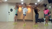 Sistar - Loving U mirrored Dance Practice