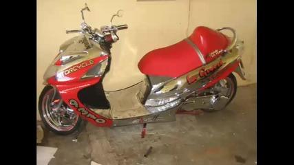 scooter turbo moto tuning